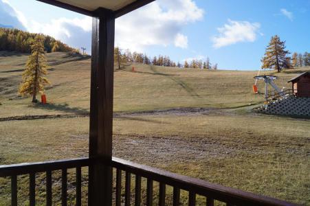 Аренда на лыжном курорте Квартира студия со спальней для 4 чел. (309) - Résidence les Cimes - Sauze - Super Sauze - летом под открытым небом