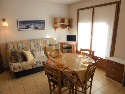 Vacances en montagne Studio coin montagne 4 personnes (A118) - Résidence les Cimes d'Or - Les Contamines-Montjoie - Table