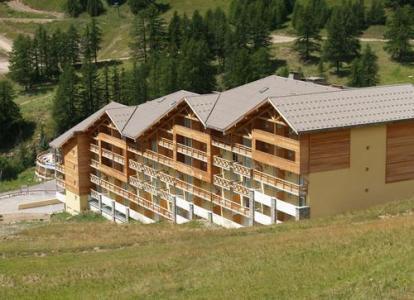 Location au ski Residence Les Cimes Du Val D'allos - Val d'Allos - Extérieur été