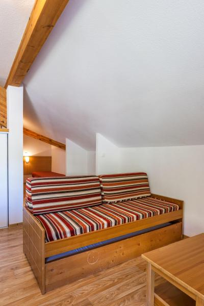 Urlaub in den Bergen Résidence les Cimes du Val d'Allos - Val d'Allos - Wohnzimmer