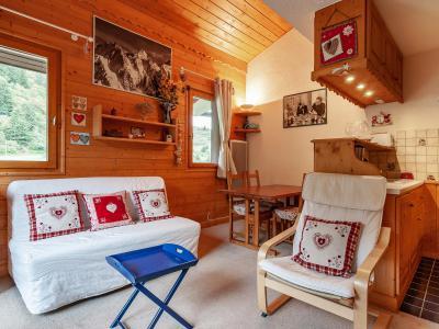 Vacances en montagne Appartement 4 pièces 6 personnes (F07) - Résidence les Cimes I - Méribel-Mottaret - Canapé-lit