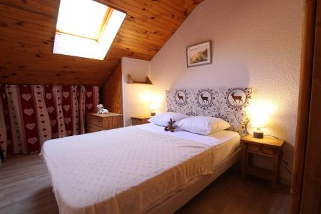 Holiday in mountain resort 2 room mezzanine apartment 6 people (07) - Résidence les Coquelicots - Pelvoux - Double bed