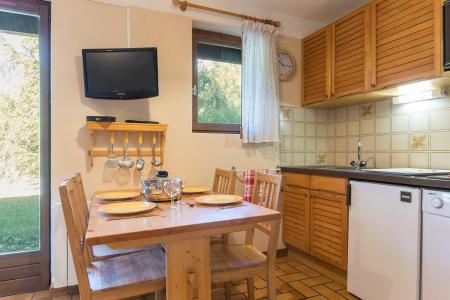 Vacances en montagne Studio cabine 4 personnes (A104) - Résidence les Crêtes - Serre Chevalier - Cuisine