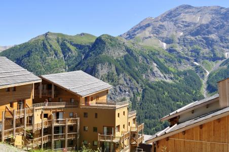 Vakantie in de bergen Résidence les Cristallines - Orcières Merlette 1850 - Buiten zomer