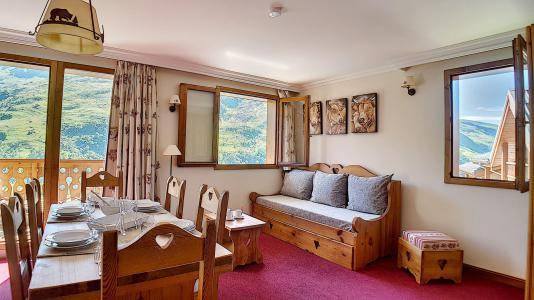 Holiday in mountain resort 3 room apartment 6 people (3) - Résidence les Cristaux - Les Menuires - Double bed