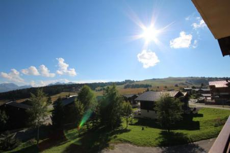Rent in ski resort Studio sleeping corner 4 people (017) - Résidence les Cyclamens - Les Saisies - Summer outside