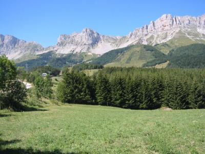 Vacances en montagne Résidence les Dolomites - Gresse en Vercors - Extérieur été