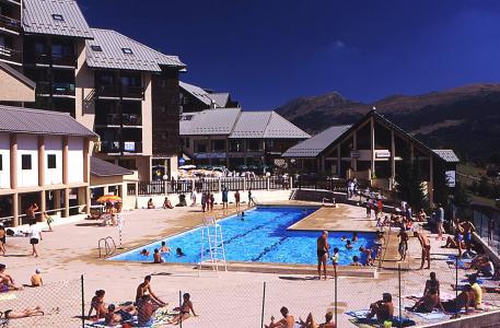 Бронирование  летом Résidence les Dolomites