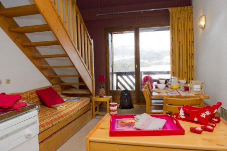 Vacances en montagne Résidence les Dolomites - Gresse en Vercors - Banquette-lit