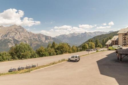 Location au ski Studio cabine 4 personnes (205) - Résidence les Ecrins - Puy-Saint-Vincent - Extérieur été
