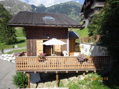 Location au ski Chalet 3 pièces 7 personnes - Résidence les Edelweiss - Champagny-en-Vanoise - Extérieur été
