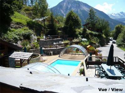 Location au ski Chalet mitoyen 3 pièces mezzanine 6-8 personnes - Résidence les Edelweiss - Champagny-en-Vanoise - Extérieur été