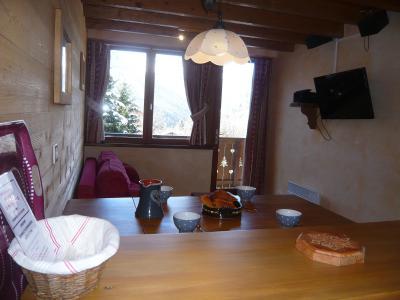 Vacances en montagne Appartement 3 pièces 5 personnes - Résidence les Edelweiss - Champagny-en-Vanoise - Table