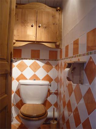 Vacances en montagne Appartement 3 pièces 5 personnes - Résidence les Edelweiss - Champagny-en-Vanoise - Wc séparé