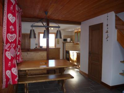 Vacances en montagne Chalet 3 pièces 7 personnes - Résidence les Edelweiss - Champagny-en-Vanoise - Coin repas