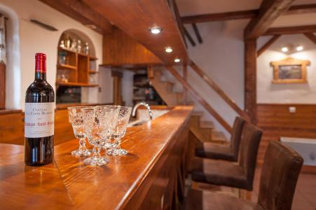 Vacances en montagne Chalet mitoyen 3 pièces mezzanine 6-8 personnes - Résidence les Edelweiss - Champagny-en-Vanoise - Bar