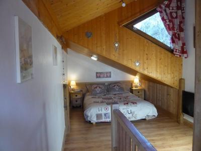 Vacances en montagne Studio 3 personnes (standard) - Résidence les Edelweiss - Champagny-en-Vanoise - Chambre mansardée