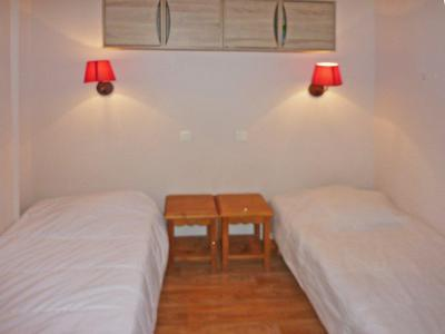 Holiday in mountain resort 2 room apartment 6 people (810) - Résidence les Eglantines - Les Orres - Single bed