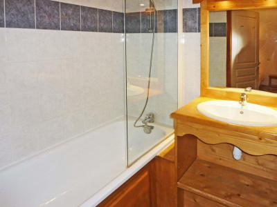 Holiday in mountain resort 2 room apartment sleeping corner 6 people (811) - Résidence les Eglantines - Les Orres - Bath-tub