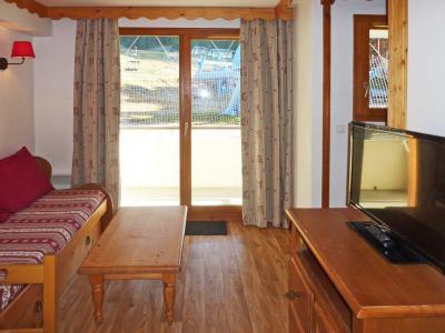Holiday in mountain resort 2 room apartment sleeping corner 6 people (814) - Résidence les Eglantines - Les Orres - Living room