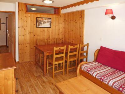 Holiday in mountain resort 2 room apartment sleeping corner 6 people (814) - Résidence les Eglantines - Les Orres - Table