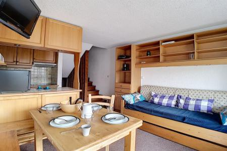 Holiday in mountain resort 2 room duplex apartment 5 people (303) - Résidence les Evons - Les Menuires - Kitchenette