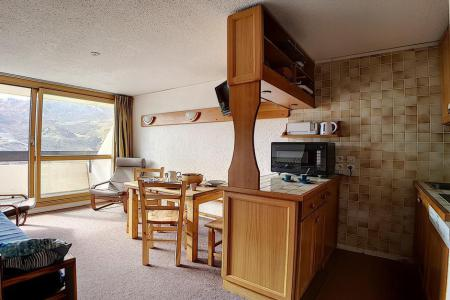 Holiday in mountain resort 2 room duplex apartment 5 people (303) - Résidence les Evons - Les Menuires - Settee