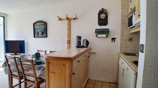 Holiday in mountain resort Studio sleeping corner 4 people (03) - Résidence les Evons - Les Menuires