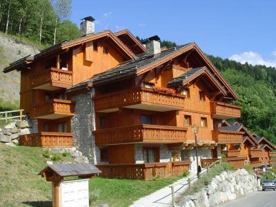 Location au ski Residence Les Fermes De Meribel Bat D - Méribel - Extérieur été