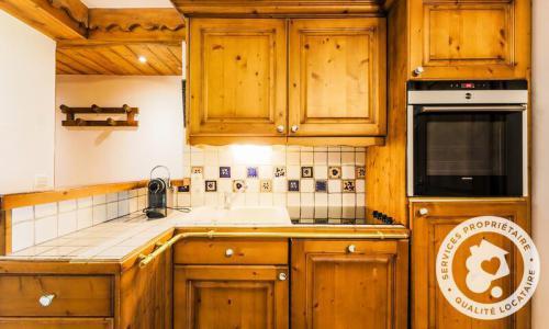 Location au ski Appartement 3 pièces 5 personnes (Sélection 40m²) - Résidence les Fermes de Méribel - Maeva Home - Méribel - Extérieur été