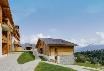 Rent in ski resort Résidence les Fermes du Mont Blanc - Combloux - Summer outside