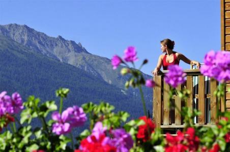Location au ski Résidence les Flocons d'Argent - Aussois - Extérieur été
