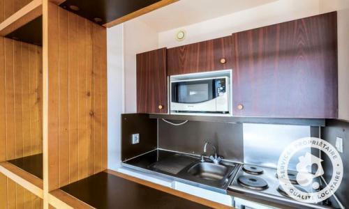 Аренда на лыжном курорте Квартира студия для 4 чел. (Budget 22m²) - Résidence les Fontaines Blanches - Maeva Home - Avoriaz - летом под открытым небом