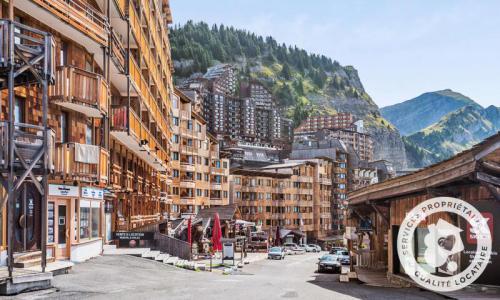 Аренда на лыжном курорте Апартаменты 2 комнат 5 чел. (Confort 28m²-4) - Résidence les Fontaines Blanches - Maeva Home - Avoriaz - летом под открытым небом