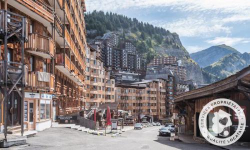 Аренда на лыжном курорте Апартаменты 2 комнат 5 чел. (Confort 28m²-2) - Résidence les Fontaines Blanches - Maeva Home - Avoriaz - летом под открытым небом