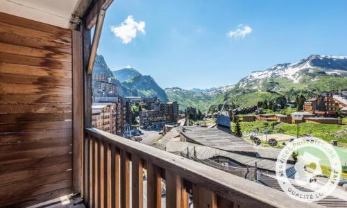 Аренда на лыжном курорте Апартаменты 2 комнат 7 чел. (Confort 28m²-6) - Résidence les Fontaines Blanches - Maeva Home - Avoriaz - летом под открытым небом