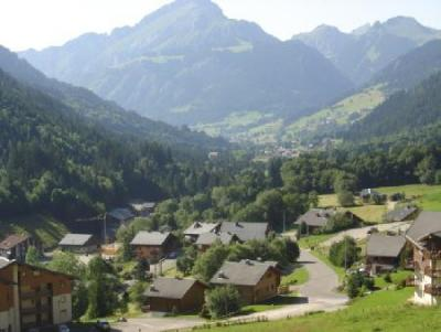 Location Chatel : Residence Les Gentianes hiver