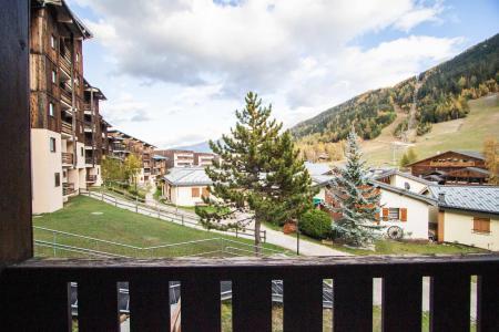 Аренда на лыжном курорте Квартира студия кабина для 4 чел. (GE09G) - Résidence les Gentianes - La Norma - летом под открытым небом