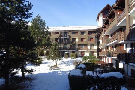 Holiday in mountain resort Studio sleeping corner 4 people (112) - Résidence les Glières - Les Arcs
