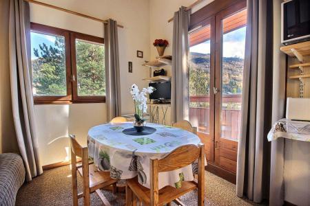 Holiday in mountain resort 1 room mezzanine apartment 5 people (417) - Résidence les Glières - Les Arcs