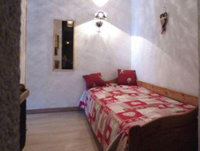 Holiday in mountain resort 2 room apartment sleeping corner 6 people (110) - Résidence les Gradins - Les Orres - Double bed