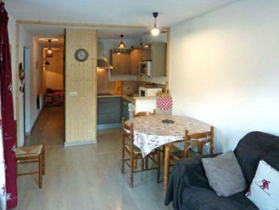 Holiday in mountain resort 2 room apartment sleeping corner 6 people (110) - Résidence les Gradins - Les Orres - Table