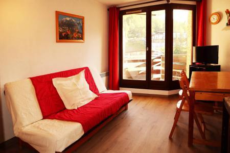 Holiday in mountain resort Studio sleeping corner 4 people (109) - Résidence les Gradins - Les Orres - Plan
