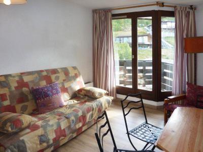 Holiday in mountain resort Studio sleeping corner 4 people (101) - Résidence les Gradins - Les Orres