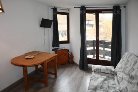 Holiday in mountain resort Studio sleeping corner 4 people (112) - Résidence les Gradins - Les Orres