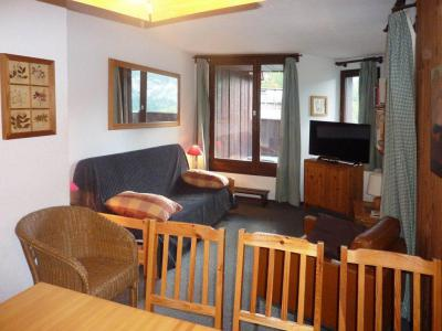 Holiday in mountain resort 3 room duplex apartment cabin 8 people (119) - Résidence les Gradins - Les Orres - Living room