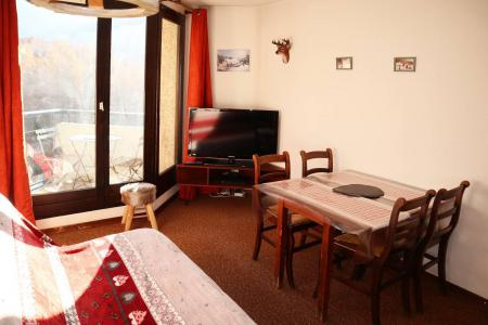 Holiday in mountain resort Studio sleeping corner 4 people (115) - Résidence les Gradins - Les Orres