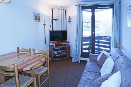 Holiday in mountain resort Studio sleeping corner 4 people (108) - Résidence les Gradins - Les Orres - Settee