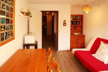 Holiday in mountain resort Studio sleeping corner 4 people (109) - Résidence les Gradins - Les Orres - Living room