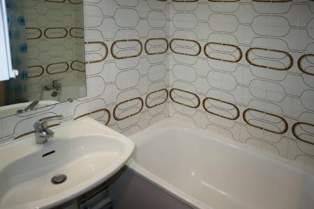 Holiday in mountain resort Studio sleeping corner 4 people (112) - Résidence les Gradins - Les Orres - Bath-tub